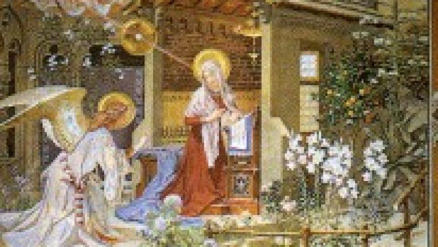 L' ANNUNCIAZIONE di Padre Alfredo omi