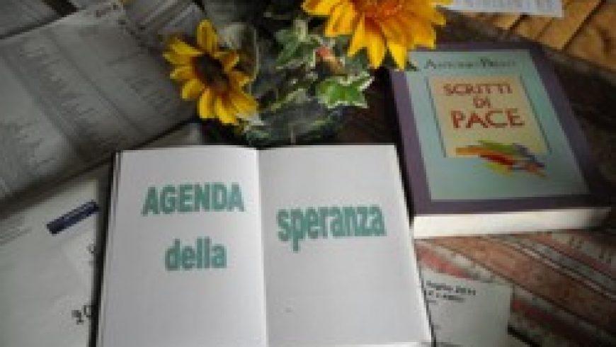 L'agenda della speranza